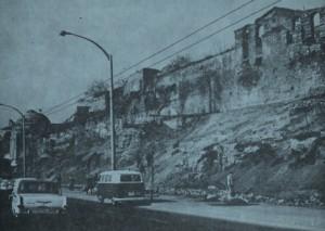 Vue des vestiges dans les années 70 (Eyice 1976: Fig. 5)