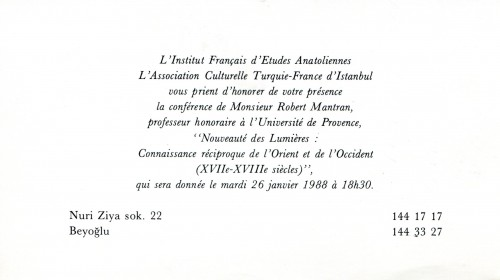 conf. Mantran 1988